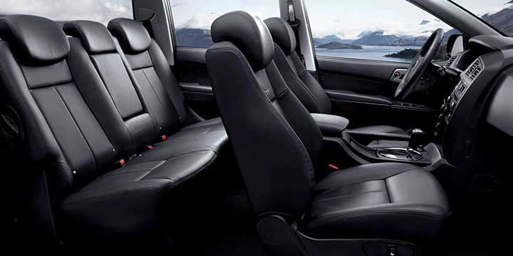 SsangYong New Actyon Sports interior