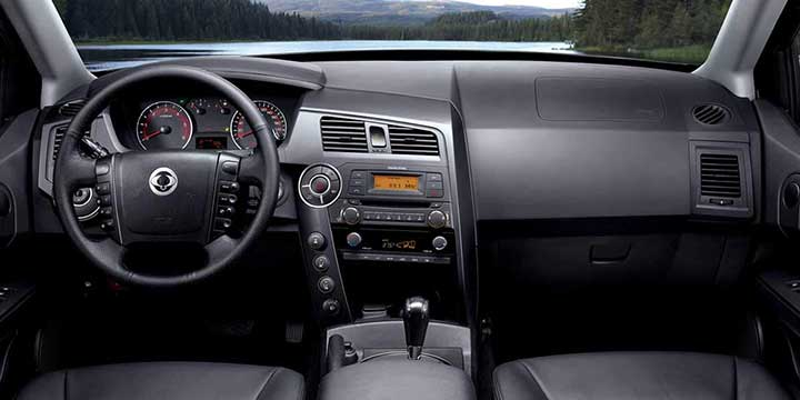 comodidad y moderno SsangYong New Actyon Sports