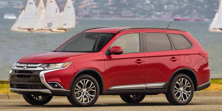 mitsubishi outlander suv familiar