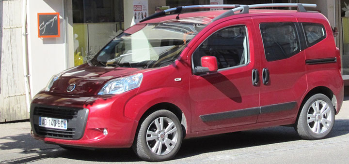 Fiat qubo cover