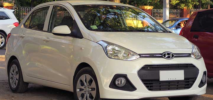 Hyundai Grand i10 sedan GM